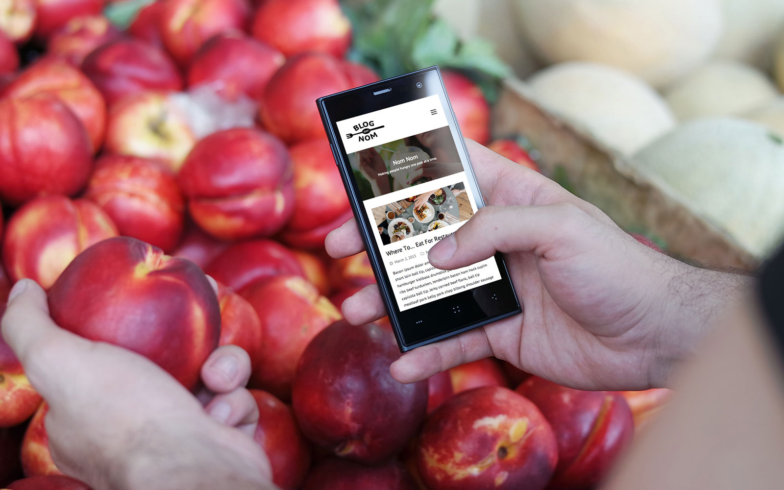 Blog.nom Food Blog